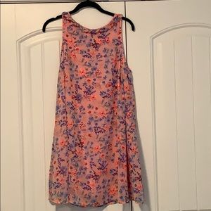 My Story - Pink Floral Tank Dress - large
